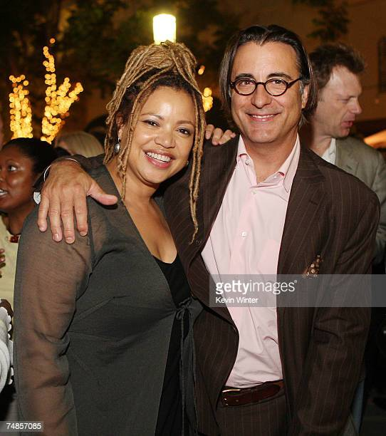 Director Kasi Lemmons and actor Andy Garcia pose at the afterparty for the premiere of Focus Features' 'Talk to Me' on the opening night of the Los...