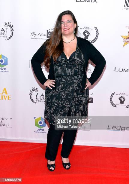 Director Kate Marzullo attends the Kash Hovey and Friends Film Block at Film Fest LA at Regal Cinemas LA LIVE Stadium 14 on November 09 2019 in Los...