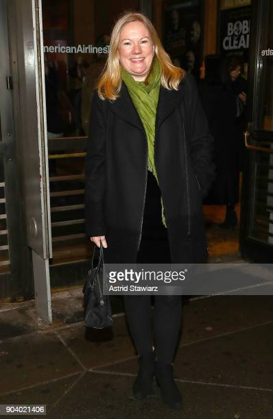 Director Kathleen Marshall attends 'John Lithgow Stories By Heart' opening night at American Airlines Theatre on January 11 2018 in New York City