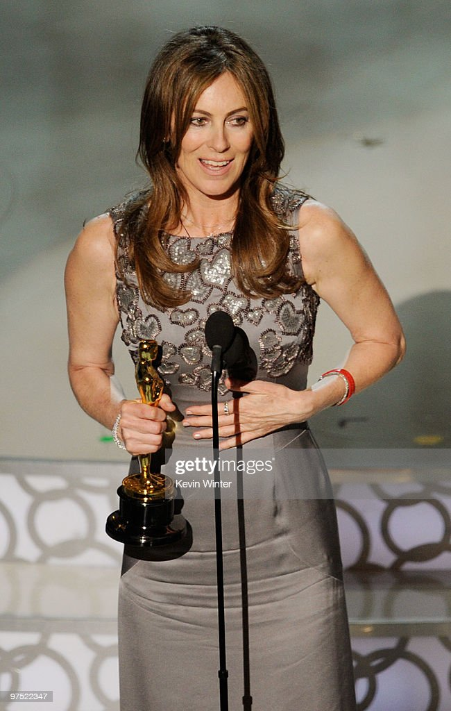 Director Kathryn Bigelow accepts Best Director award for 'The Hurt Locker' onstage during the 82nd Annual Academy Awards held at Kodak Theatre on March 7, 2010 in Hollywood, California.