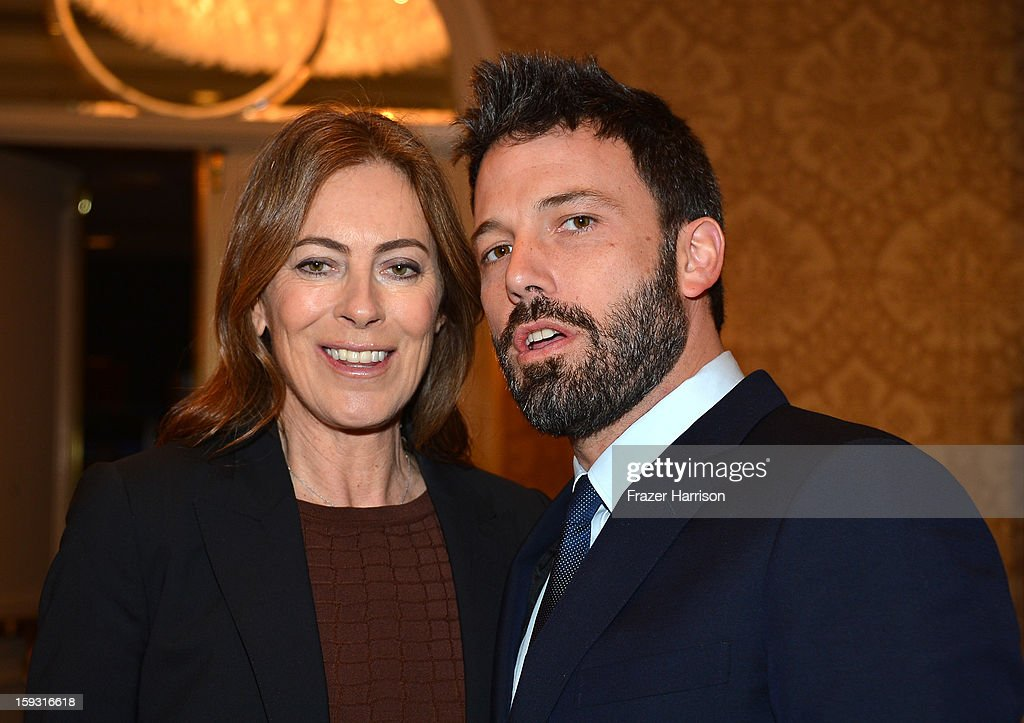 Director Kathryn Bigelow and director/actor Ben Affleck attend the 13th Annual AFI Awards at Four Seasons Los Angeles at Beverly Hills on January 11, 2013 in Beverly Hills, California.