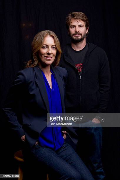 Director Kathryn Bigelow and screenwriter Mark Boal are photographed for USA Today on December 13 2012 in Beverly Hills California PUBLISHED IMAGE