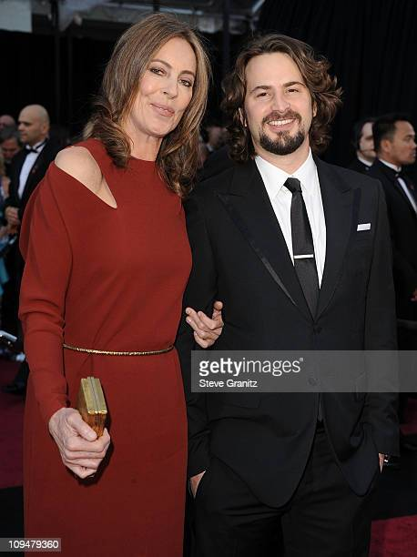 Director Kathryn Bigelow and screenwriter Mark Boal arrive at the 83rd Annual Academy Awards held at the Kodak Theatre on February 27 2011 in...