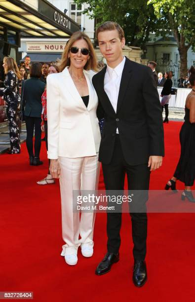 Director Kathryn Bigelow and Will Poulter attend the European Premiere of 'Detroit' at The Curzon Mayfair on August 16 2017 in London England