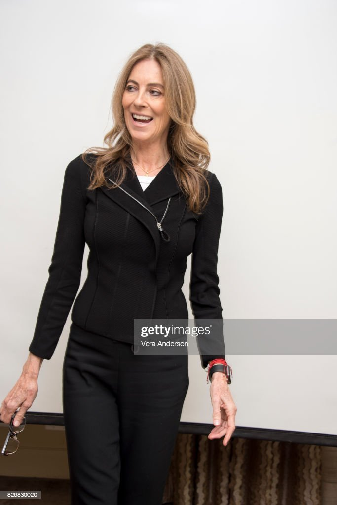 Director Kathryn Bigelow at the 'Detroit' Press Conference at the Four Seasons Hotel on August 4, 2017 in Beverly Hills, California.