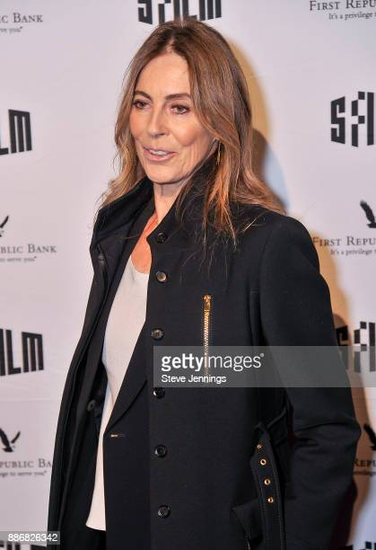 Director Kathryn Bigelow attends the 2017 SFFILM Awards Night to accept the Irving M Levin Award for Film Direction at Palace of Fine Arts Theatre on...