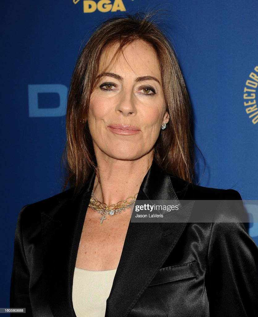 Director Kathryn Bigelow attends the 65th annual Directors Guild Of America Awards at The Ray Dolby Ballroom at Hollywood & Highland Center on February 2, 2013 in Hollywood, California.