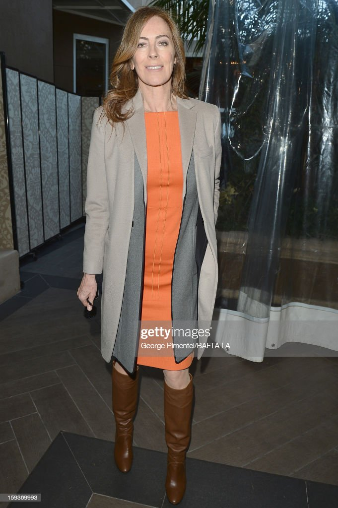 Director Kathryn Bigelow attends the BAFTA Los Angeles 2013 Awards Season Tea Party held at the Four Seasons Hotel Los Angeles on January 12, 2013 in Los Angeles, California.