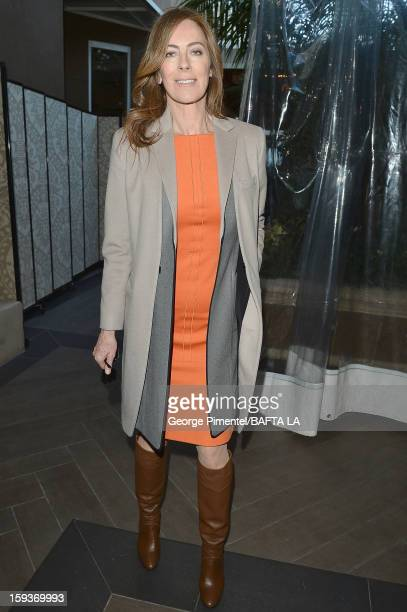 Director Kathryn Bigelow attends the BAFTA Los Angeles 2013 Awards Season Tea Party held at the Four Seasons Hotel Los Angeles on January 12 2013 in...