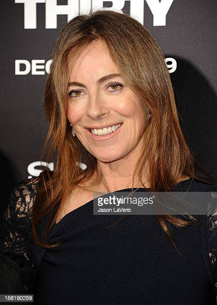 """Director Kathryn Bigelow attends the premiere of """"Zero Dark Thirty"""" at the Dolby Theatre on December 10, 2012 in Hollywood, California."""