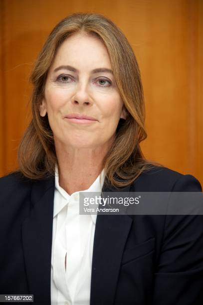 Director Kathryn Bigelow attends the Zero Dark Thirty press conference at the Ritz Carlton Hotel on December 3 2012 in New York City