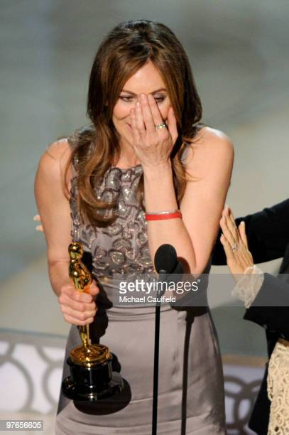 Director Kathryn Bigelow onstage during the 82nd Annual Academy Awards held at Kodak Theatre on March 7 2010 in Hollywood California