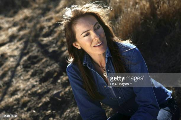 Director Kathryn Bigelow poses for a portrait session for the Los Angeles Times on November 24 Agua Dulce CA Published Image CREDIT MUST READ Liz O...