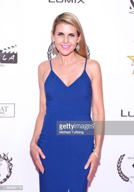 Director Kathy Kolla attend s the Kash Hovey and Friends Film Block at Film Fest LA at Regal Cinemas LA LIVE Stadium 14 on November 09 2019 in Los...
