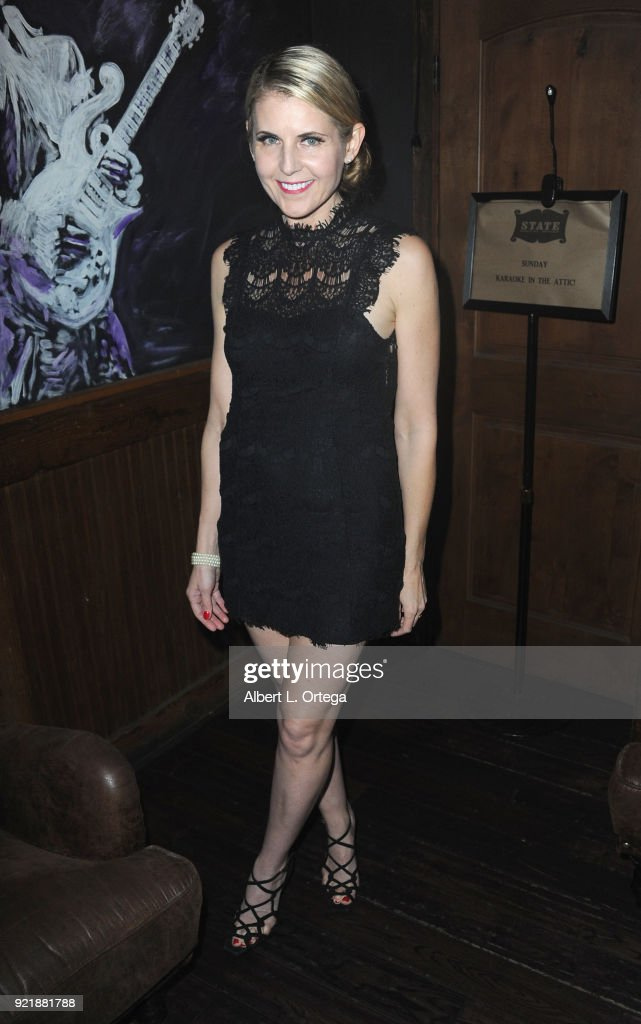 Director Kathy Kolla attends the Indie Musicians Concert for Free2Luv.org #UNSTOPPABLE 3.10.2018Movement, working to raise self-esteem for under-served girls, presented by Monarch PR and TMC held at State Social House on February 20, 2018 in West Hollywood, California.