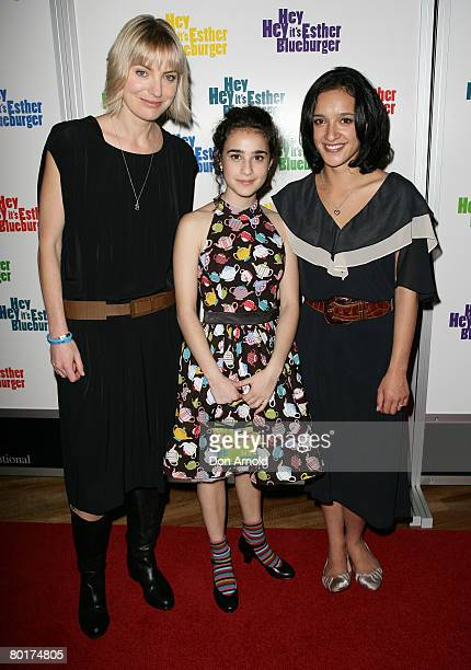 Director Kathy RandallDanielle Catanzariti and Keisha CastleHughes attend the Australian premiere of 'Hey Hey It's Esther Blueburger' at the Greater...