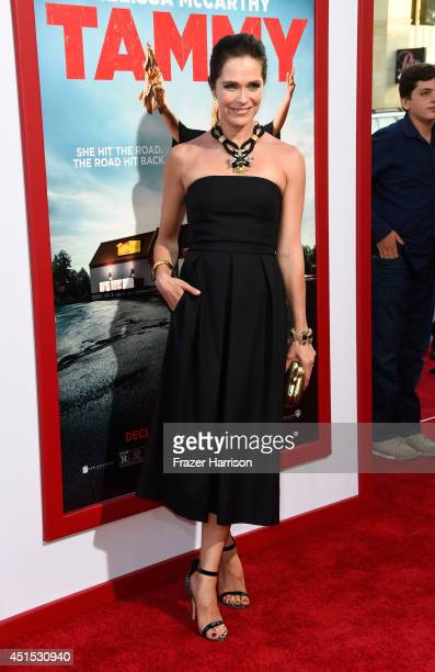 Director Katie Aselton attends the premiere of Warner Bros Pictures' Tammy at TCL Chinese Theatre on June 30 2014 in Hollywood California