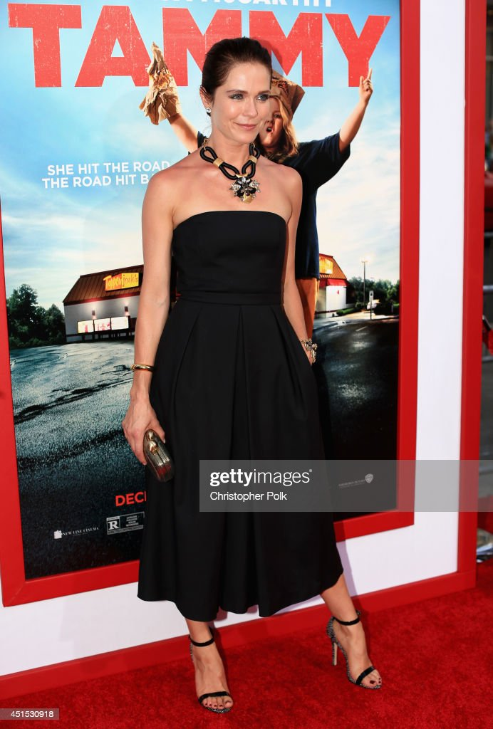 Director Katie Aselton attends the 'Tammy' Los Angeles premiere at TCL Chinese Theatre on June 30, 2014 in Hollywood, California.
