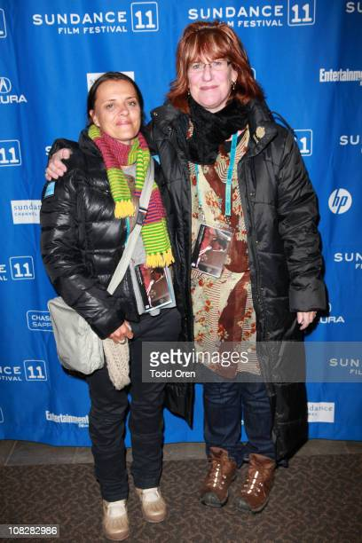 Director Katie Wolfe and producer Rachel Jean attend the Indigenous Shorts at the Holiday Village IV Theatre during the 2011 Sundance Film Festival...