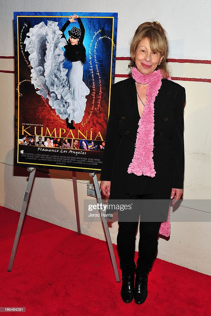 Director Katina Dunn arrives at the premiere of 'Kumpania: Flemenco Los Angeles' at El Cid on January 31, 2013 in Los Angeles, California.
