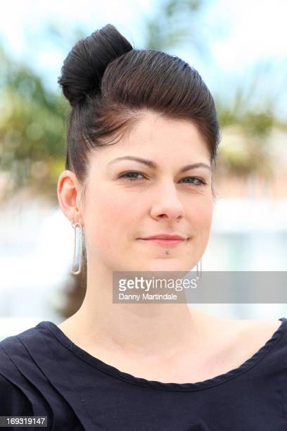 Director Katrin Gebbe attends the photocall for 'Tore Tantz' at The 66th Annual Cannes Film Festival at Palais des Festival on May 23 2013 in Cannes...