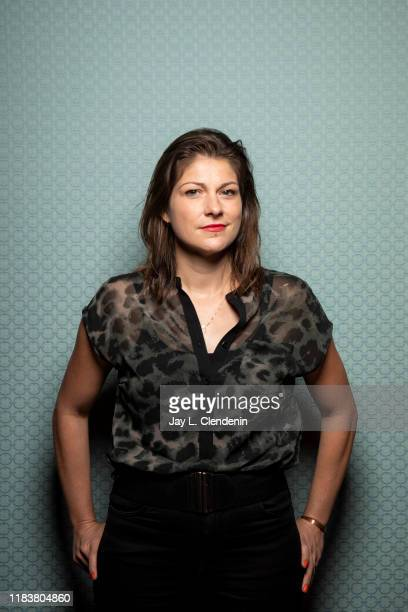 Director Katrin Gebbe from 'Pelican Blood' is photographed for Los Angeles Times on September 9, 2019 at the Toronto International Film Festival in...