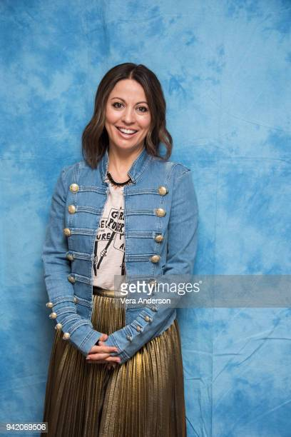 Director Kay Cannon at the 'Blockers' Press Conference at The Montage Hotel on April 4 2018 in Beverly Hills California