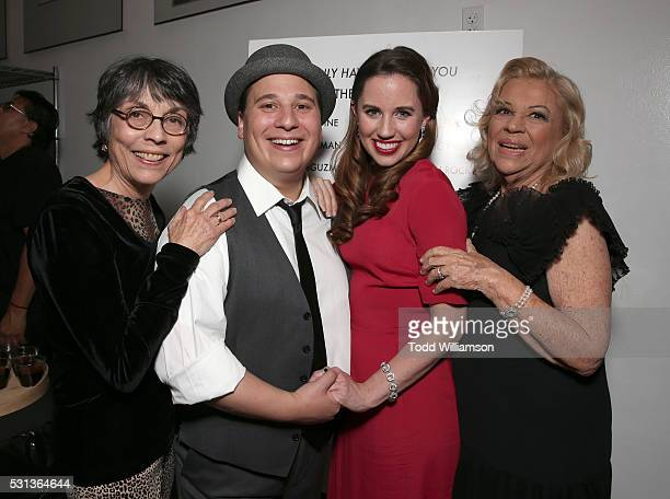 Director Kay Cole Jared Gertner Nikki Bohne and Corky Hale attend the opening night Of I Only Have Eyes For You at The Ricardo Montalban Theatre on...