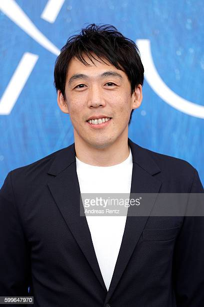 Director Kei Ishikawa attends a photocall for 'Traces Of Sin' during the 73rd Venice Film Festival at on September 6 2016 in Venice Italy