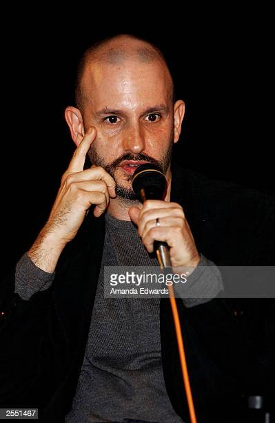 Director Keith Gordon attends a QA session following the Variety screening of The Singing Detective at The Egyptian on September 30 2003 in Hollywood...
