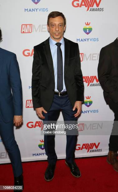 Director Keith Miller attends the 2019 GayVN Awards show at The Joint inside the Hard Rock Hotel Casino on January 21 2019 in Las Vegas Nevada
