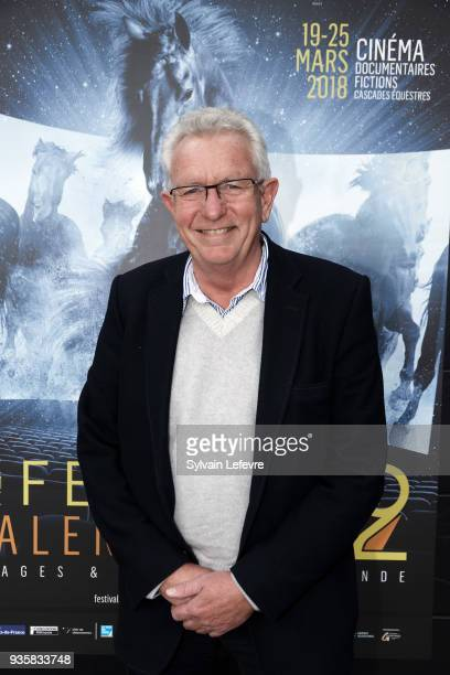 Director Keith Scholey poses during Valenciennes Film Festival on March 21 2018 in Valenciennes France