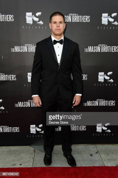 """Director Keith Sutliff attends the premiere of """"The Mason Brothers"""" at the Egyptian Theatre on April 11, 2017 in Hollywood, California."""