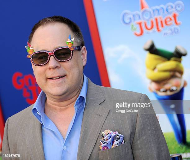 Director Kelly Asbury arrives at the World Premiere of Gnomeo Juliet held at the El Capitan Theatre on January 23 2011 in Hollywood California