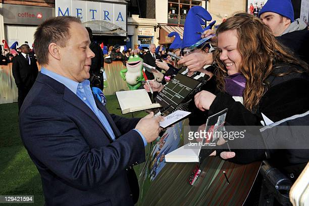 Director Kelly Asbury attends the Gnomeo Juliet premiere at Odeon Leicester Square on January 30 2011 in London England