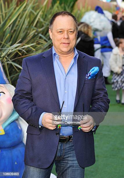 Director Kelly Asbury attends the UK Film Premiere of 'Gnomeo And Juliet' at the Odeon Leicester Square on January 30 2011 in London England