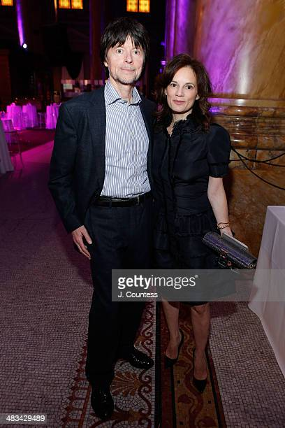 Director Ken Burns and wife Julie Deborah Brown attend the 2014 Room To Grow Gala at Capitale on April 8 2014 in New York City