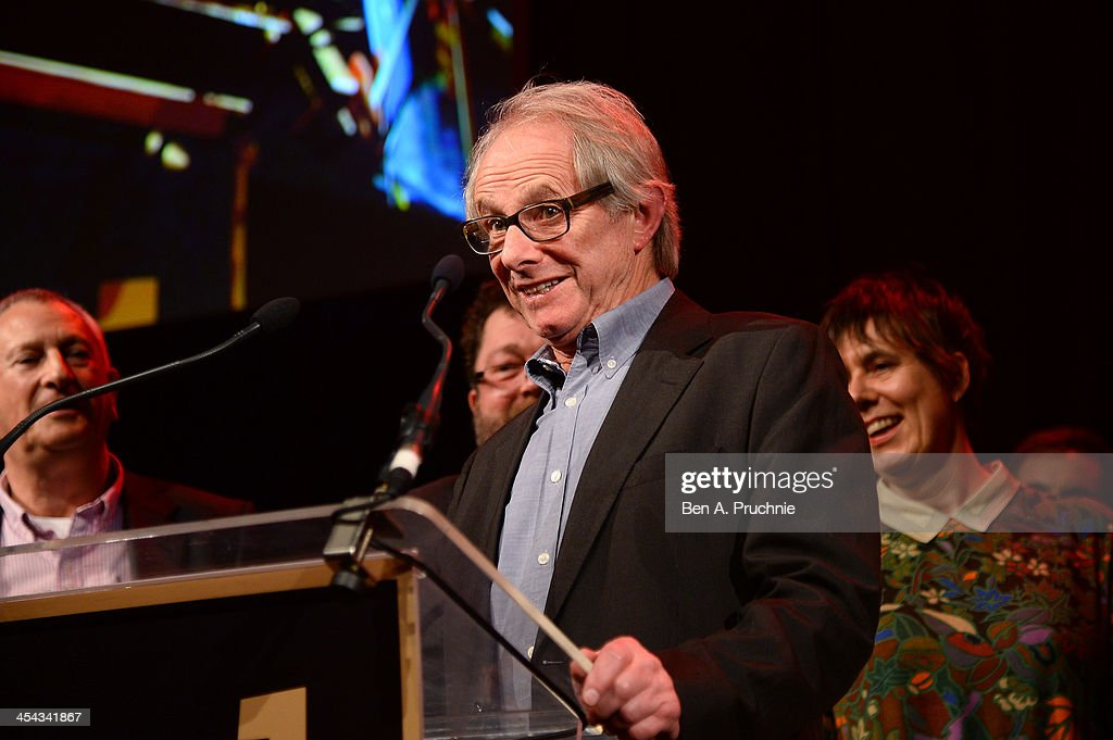 Director Ken Loach and his Team Loach accept the Special Jury Prize during the ceremony for the Moet British Independent Film Awards at Old Billingsgate Market on December 8, 2013 in London, England.