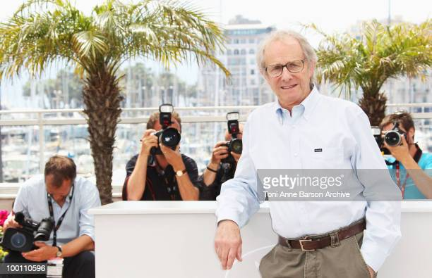 Director Ken Loach attends the 'Route Irish' Photo Call held at the Palais des Festivals during the 63rd Annual International Cannes Film Festival on...