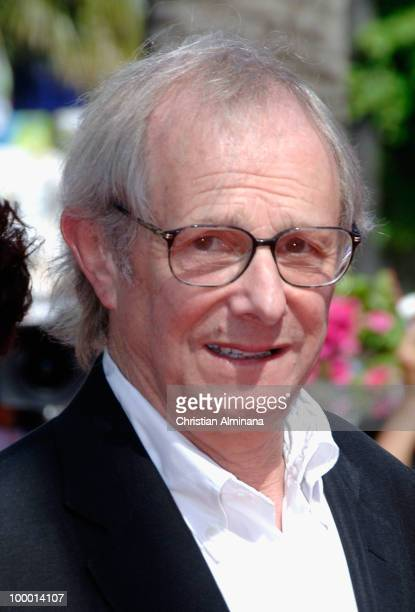 Director Ken Loach attends the 'Route Irish' Premiere held at the Palais des Festivals during the 63rd Annual International Cannes Film Festival on...