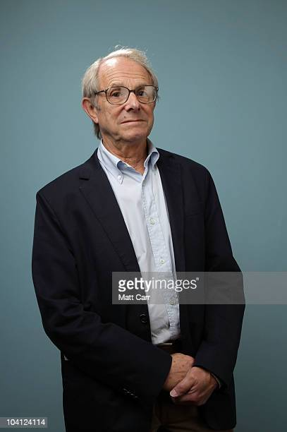 Director Ken Loach from 'Route Irish' poses for a portrait during the 2010 Toronto International Film Festival in Guess Portrait Studio at Hyatt...