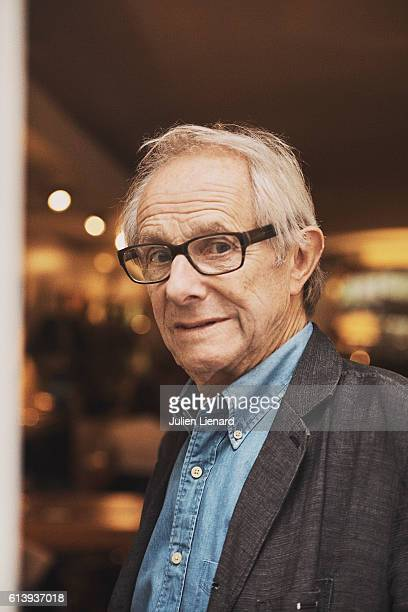 Director Ken Loach is photographed for Le Film Francais on September 20 2016 in Paris France