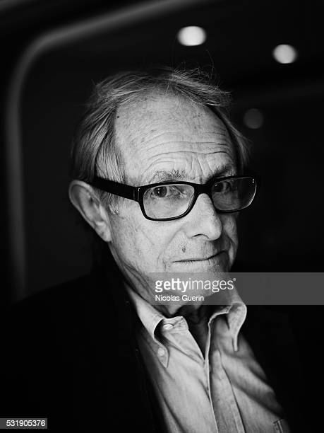 Director Ken Loach is photographed for Self Assignment on May 14 2016 in Cannes France