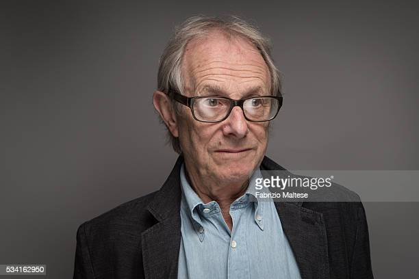 Director Ken Loach is photographed for The Hollywood Reporter on May 14 2016 in Cannes France