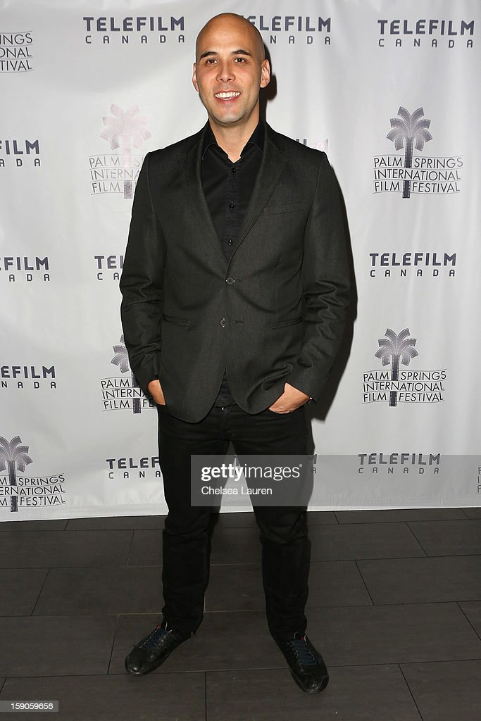 Director Ken Nguyen arrives at the Canadian film party at the 24th annual Palm Springs International Film Festival on January 6, 2013 in Palm Springs, California.