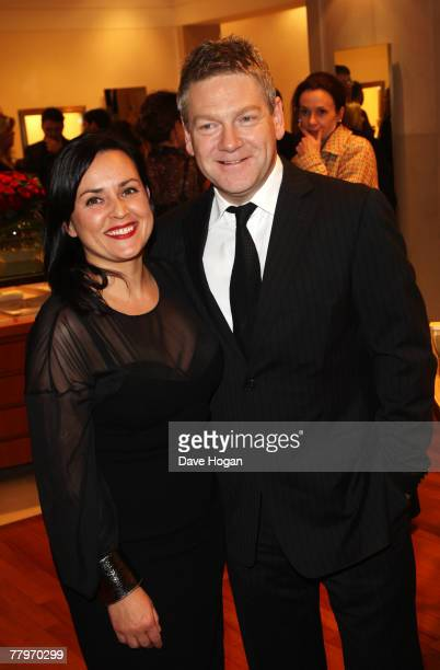 Director Kenneth Branagh and his wife Lindsay Brunnock attend the 'Sleuth' Bulgari Premiere Party at the Bulgari store, New Bond St, on November 18,...