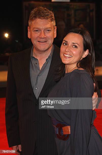 Director Kenneth Branagh and wife Lindsay Brunnock attend the Sleuth premiere during Day 2 of the 64th Annual Venice Film Festival on August 30 2007...