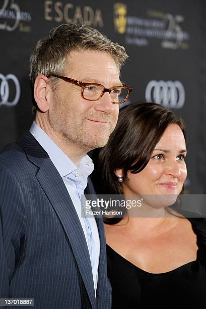 Director Kenneth Branagh and wife Lindsay Brunnock attends BAFTA Los Angeles' 18th annual Awards Season Tea Party held at Four Seasons Hotel Los...
