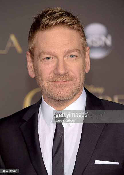Director Kenneth Branagh attends the premiere of Disney's 'Cinderella' at the El Capitan Theatre on March 1 2015 in Hollywood California