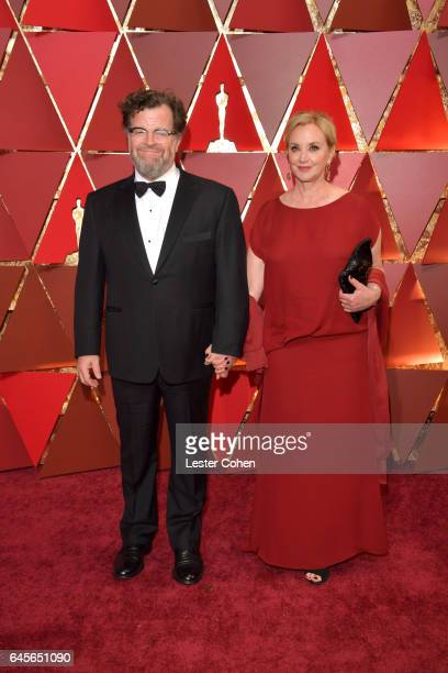 Director Kenneth Lonergan and actor J. Smith-Cameron attend the 89th Annual Academy Awards at Hollywood & Highland Center on February 26, 2017 in...